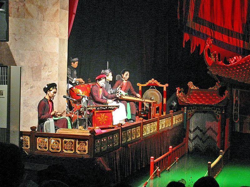 水上木偶劇院 圖/Wikimedia