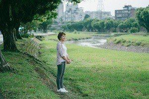 雙溪河濱公園讓劉真蓉從繁忙的工作中得到喘息。 (圖/衍序設計規劃)