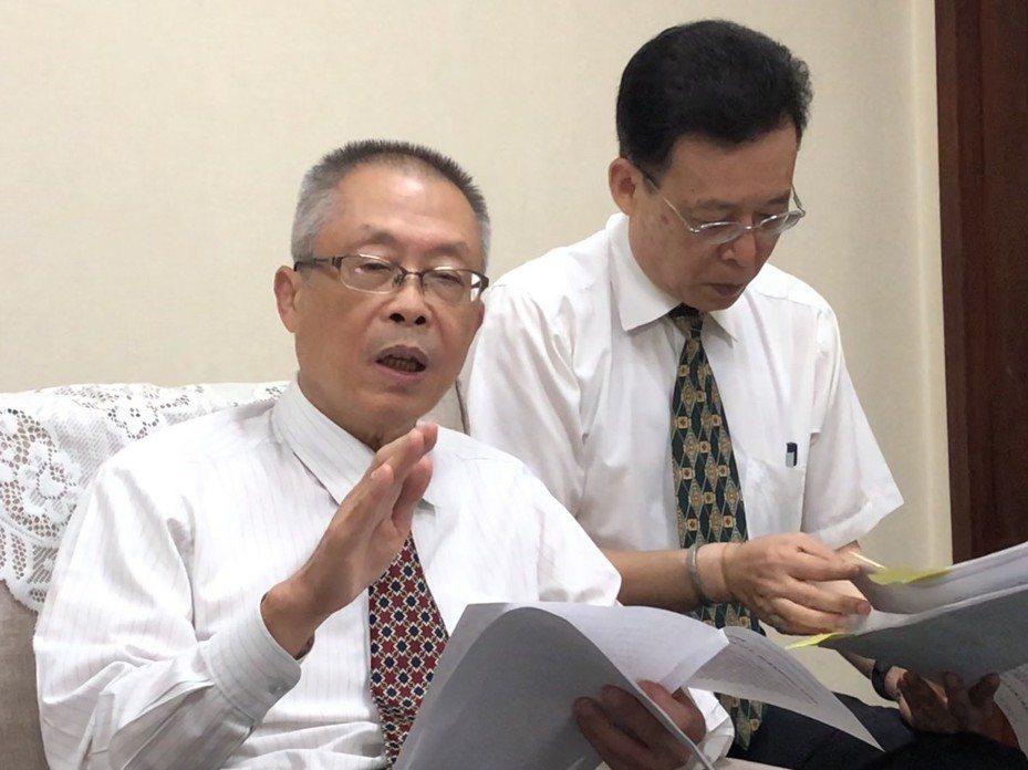 監察院秘書長傅孟融。記者張文馨/攝影