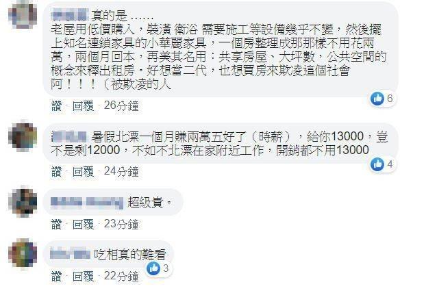 圖/截自臉書租屋社團。