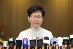 港特首林鄭月娥:香港最近有點「風雨飄搖」