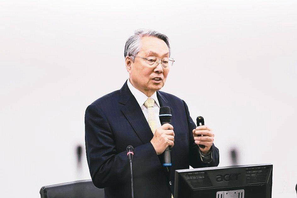 宏碁集團創辦人兼榮譽董事長施振榮。 台灣傳統基金會/提供