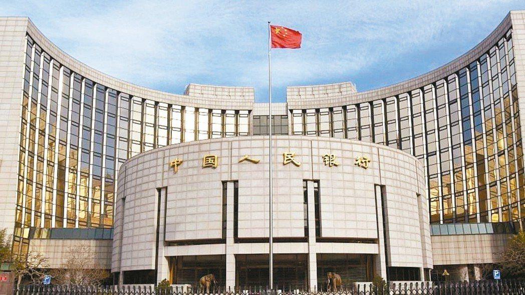 中國人民銀行外觀。 新京報