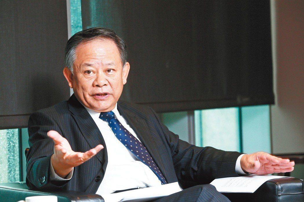 華南金董事長張雲鵬專訪。記者蘇健忠/攝影