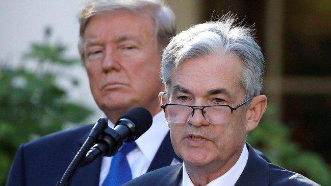 川普施加的壓力,讓Fed主席鮑爾難以招架。路透