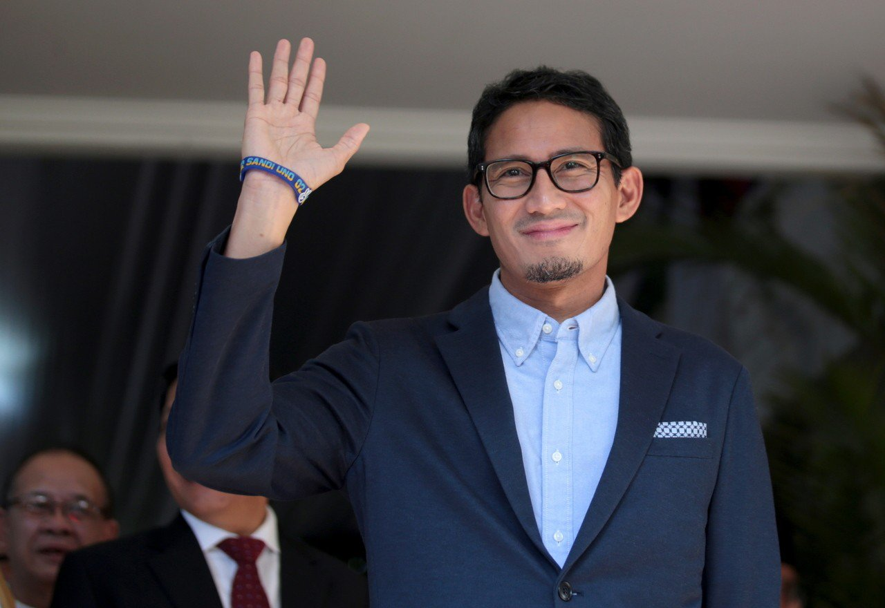 印尼總統大選提出訴訟的落選方普拉伯沃(Prabowo Subianto)。 歐新...