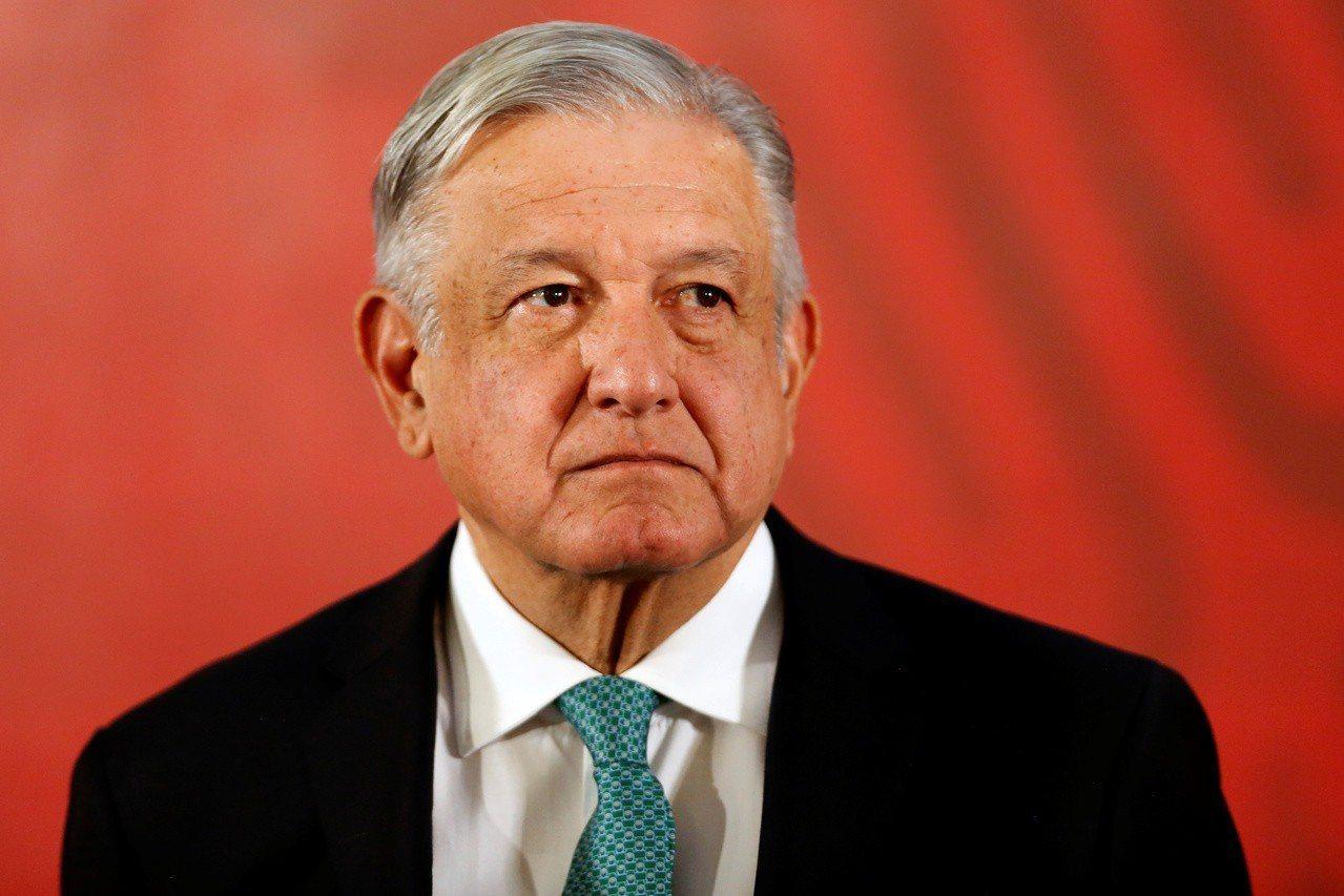 墨西哥總統羅培茲歐布拉多。 路透社