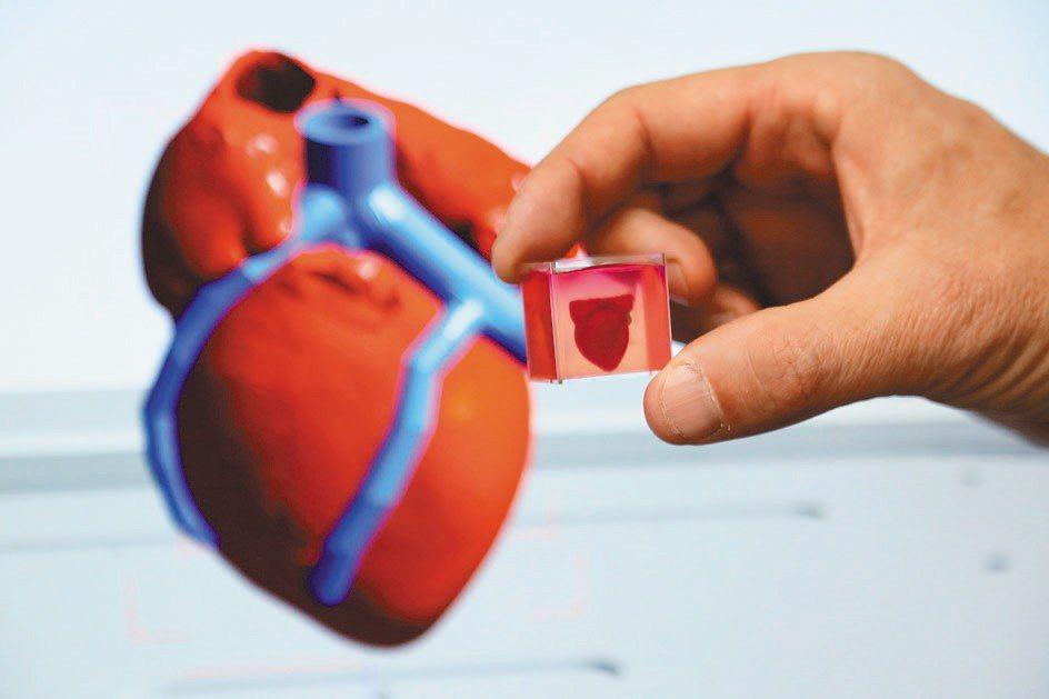 以色列特拉維夫大學研究人員宣布,他們成功以病人自身的組織為原材料,3D列印出全球...