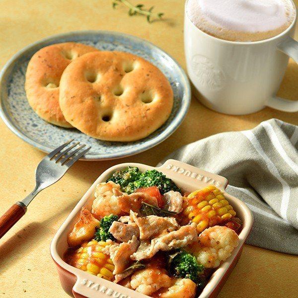 普羅旺斯風豬肉燉菜(佐麵包)。圖/Starbucks提供