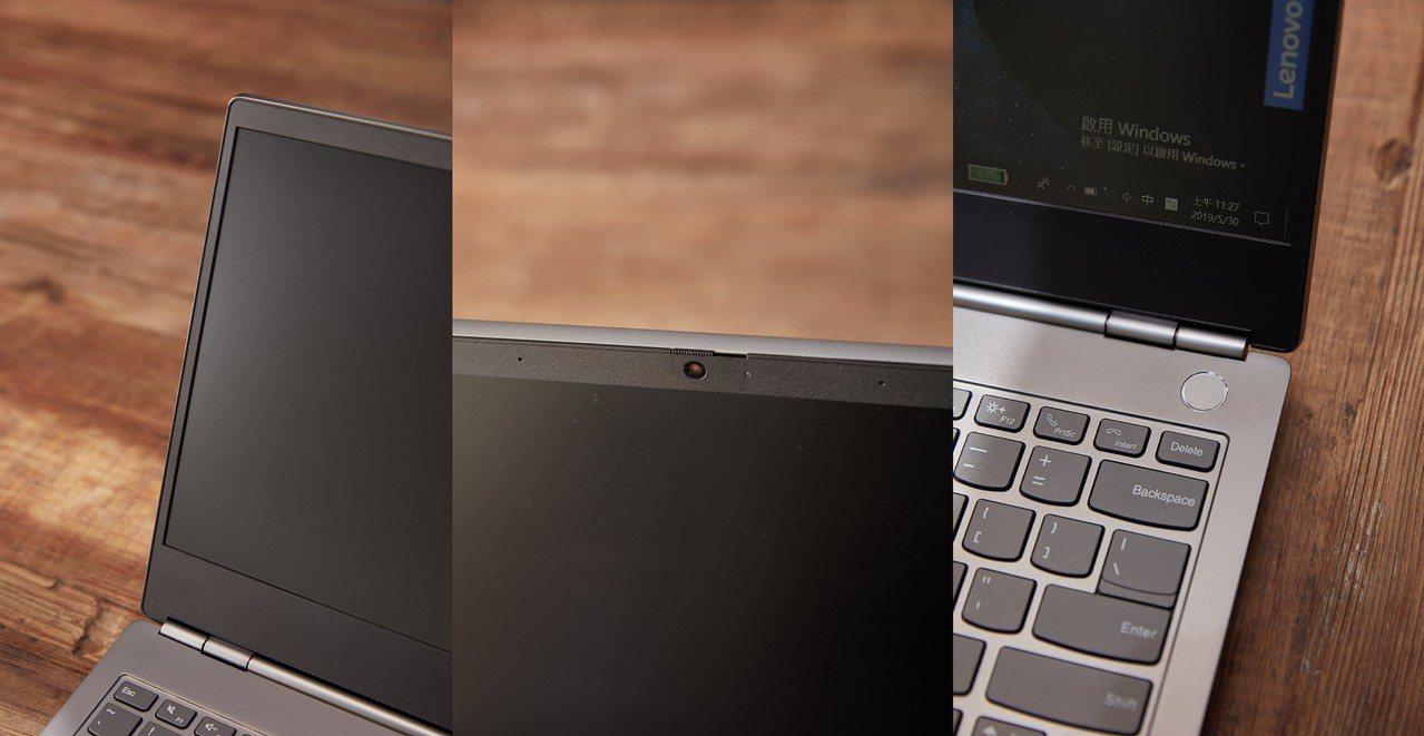 極窄邊框設計讓螢幕更寬廣,Think Shutter實體鏡頭蓋能保護使用者隱私,...