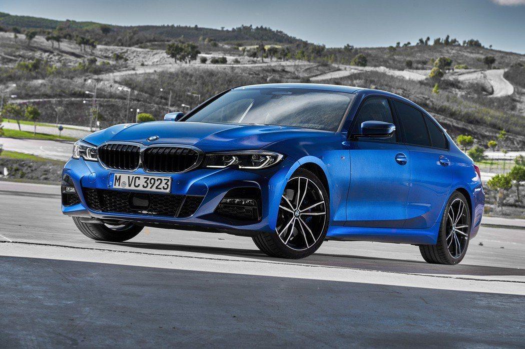 新世代BMW 3 Series Sedan (G20) 已於2018巴黎車展中正...