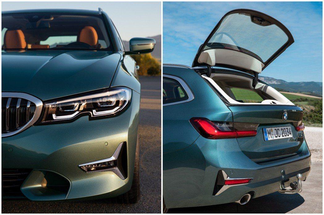 新世代BMW 3 Series Touring (G21) 尾窗增加20mm的寬...