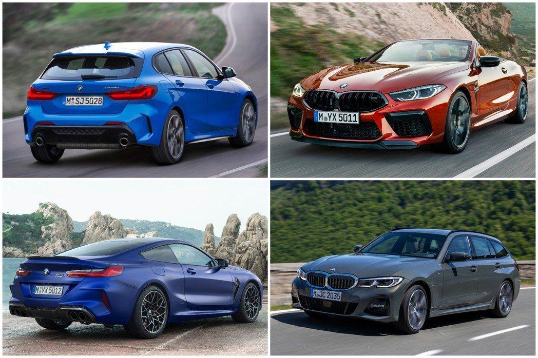 BMW在近期發表的新車,包括新世代1 Series、3 Series Touri...