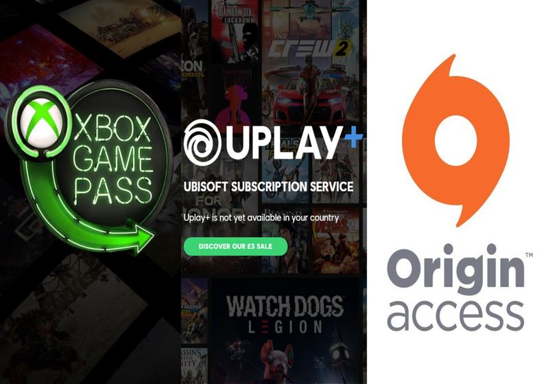 E3 遊戲訂閱服務大競爭 哪一個平台最值得玩家投入?