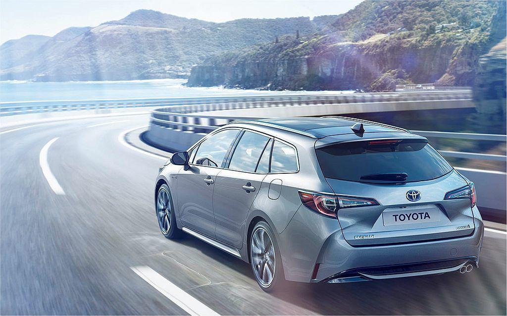 即將發表的日規新Corolla/Corolla Touring,必須將車身寬度控...