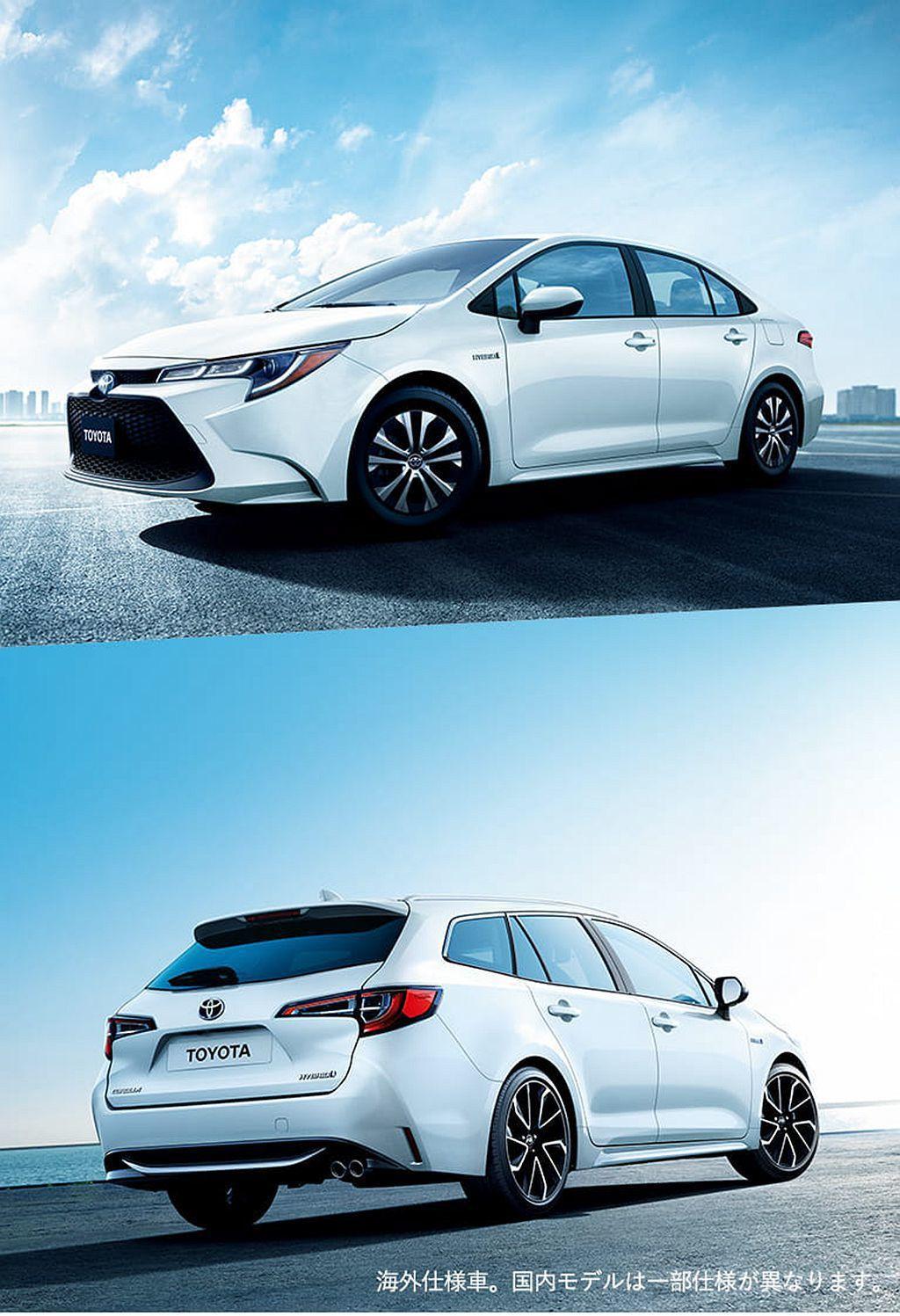 全新Toyota Corolla/Corolla Touring確定日規車型上市...