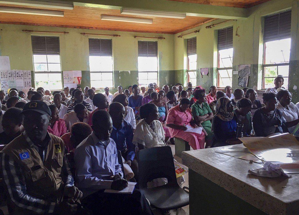 烏干達通報確認有伊波拉病例後,國際救援委員會(IRC)等防疫醫療相關組織,也在烏...