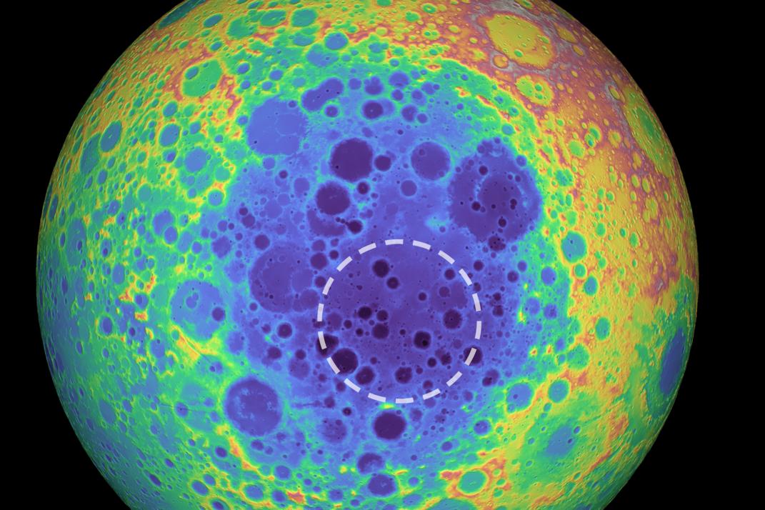 月球竟埋了5個夏威夷大的神秘金屬 就位於「這個地方」