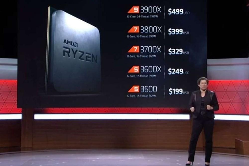 將更多核心設計帶進消費應用市場 AMD揭曉採16核心設計的Ryzen 9 3950X處理器