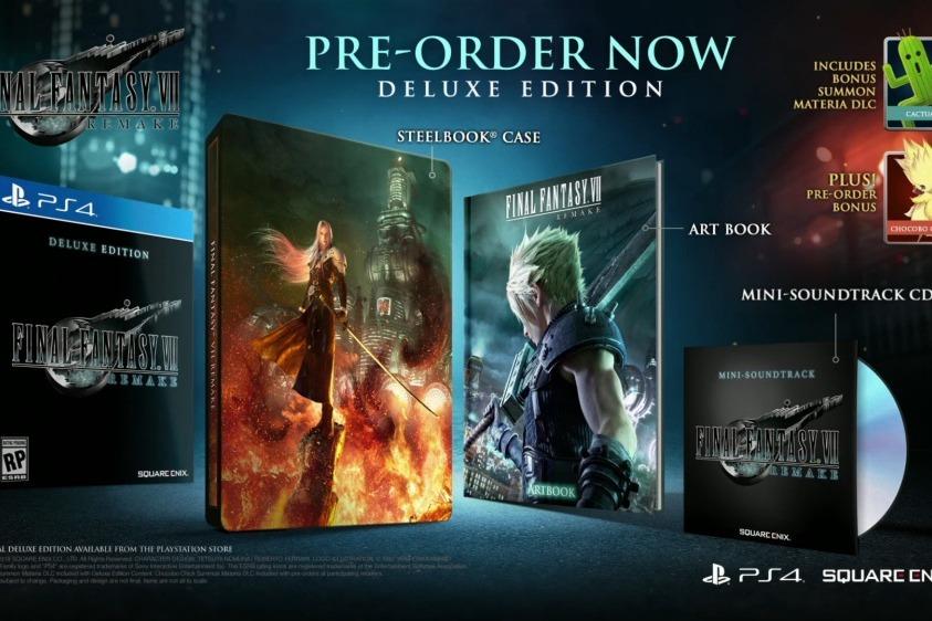 蒂法、賽菲羅斯登場,《Final Fantasy VII重製版》公布完整預告影片
