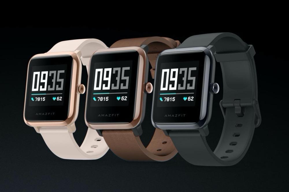 搭載自製黃山1號處理晶片 華米推出可量測心電圖的AMAZFIT智慧手錶2及米動健康手錶