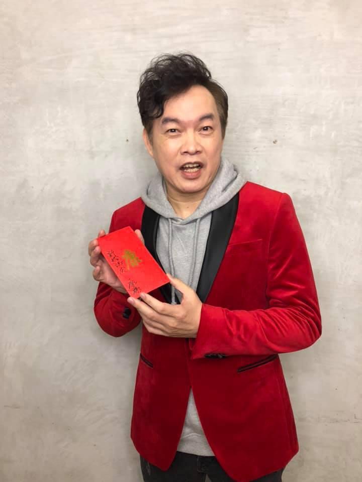 康康首度角逐金曲台語歌王。圖/摘自臉書