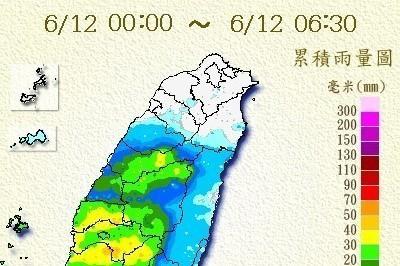 中南部雨不停 北部今有空檔