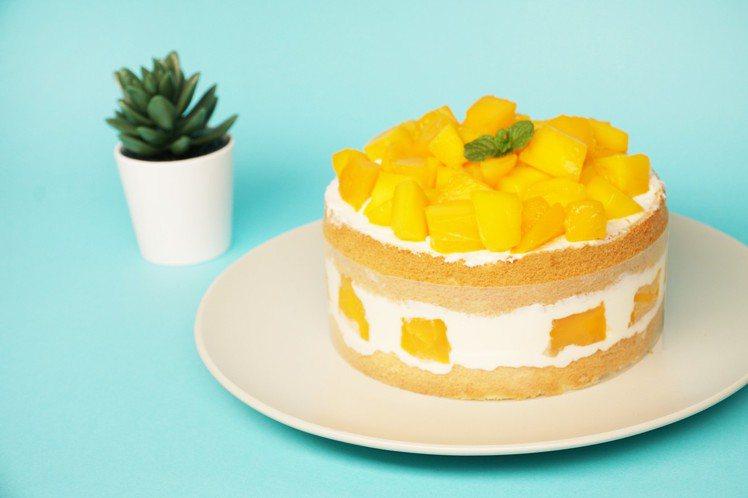 動手玩DOUGH/芒果甜點DIY。圖/誠品生活提供