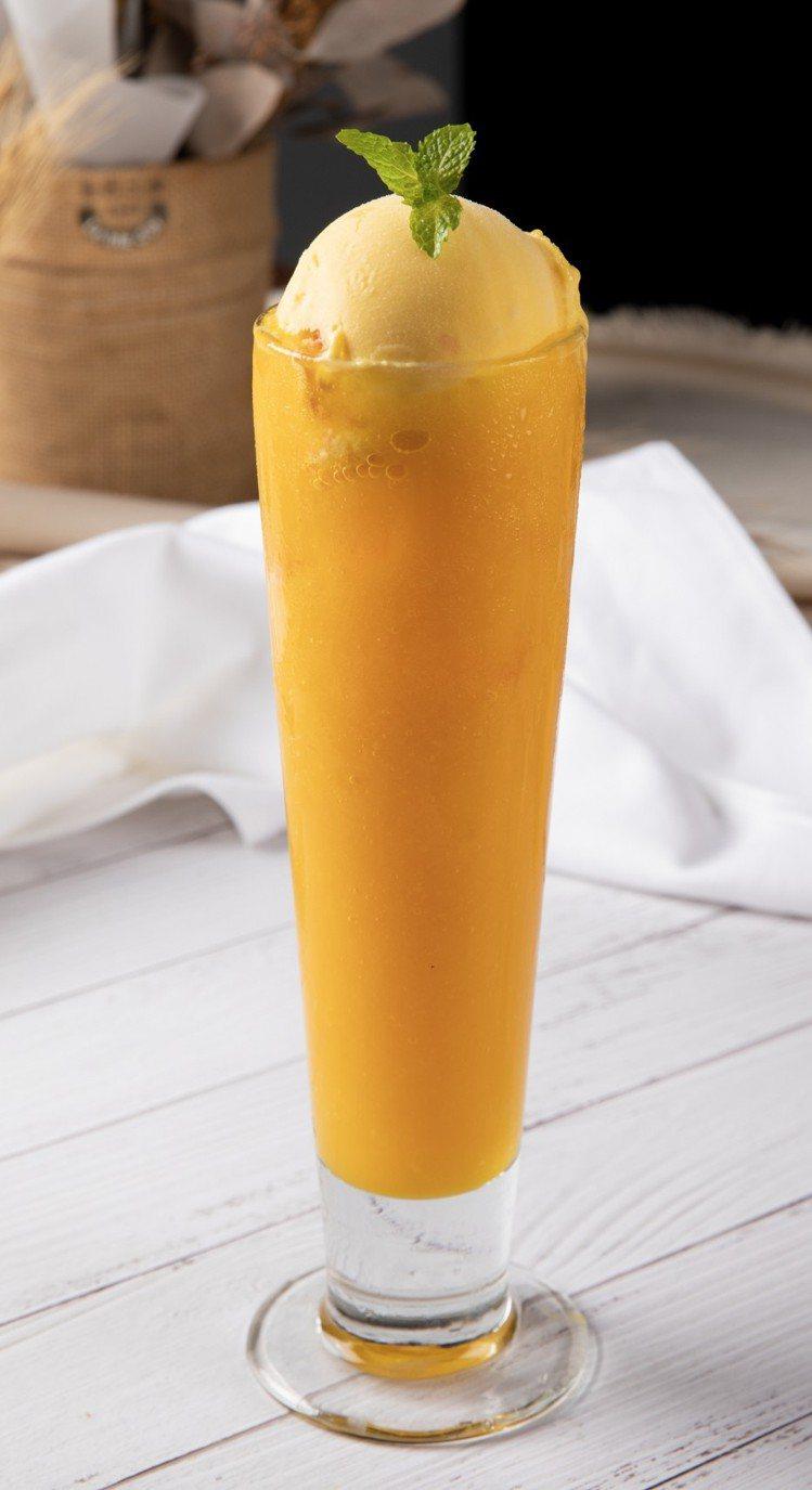 金色三麥/蜂蜜啤酒芒果冰沙。圖/誠品生活提供【提醒您,喝酒不開車,開車不喝酒】