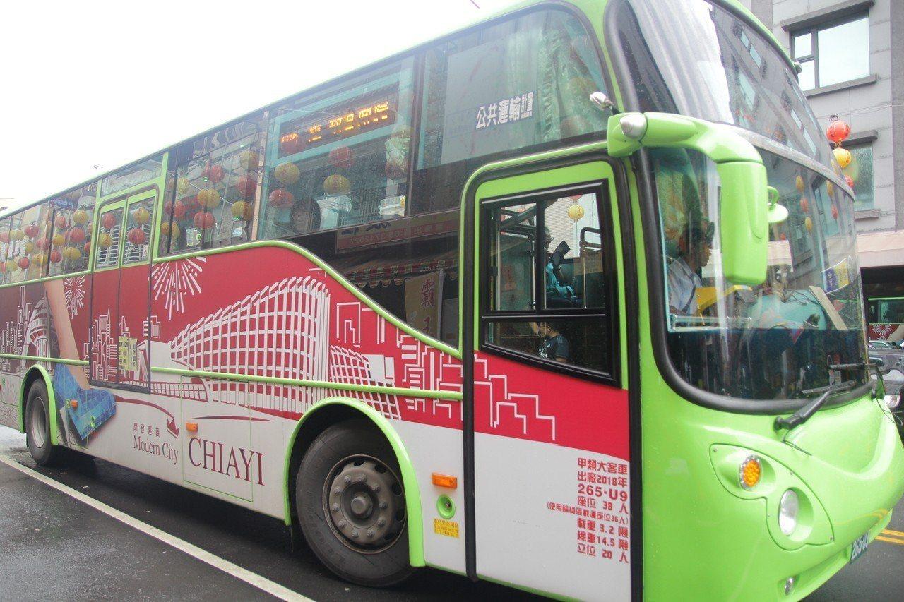 台灣好行106路線便利遊玩嘉義縣市各知名觀光景點。記者謝恩得/翻攝