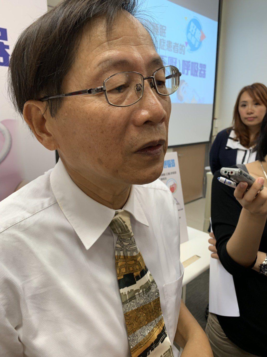 台北榮總胸腔部特約主治醫師蕭光明說,國內睡眠呼吸中止症的患者,有被低估的趨勢,國...