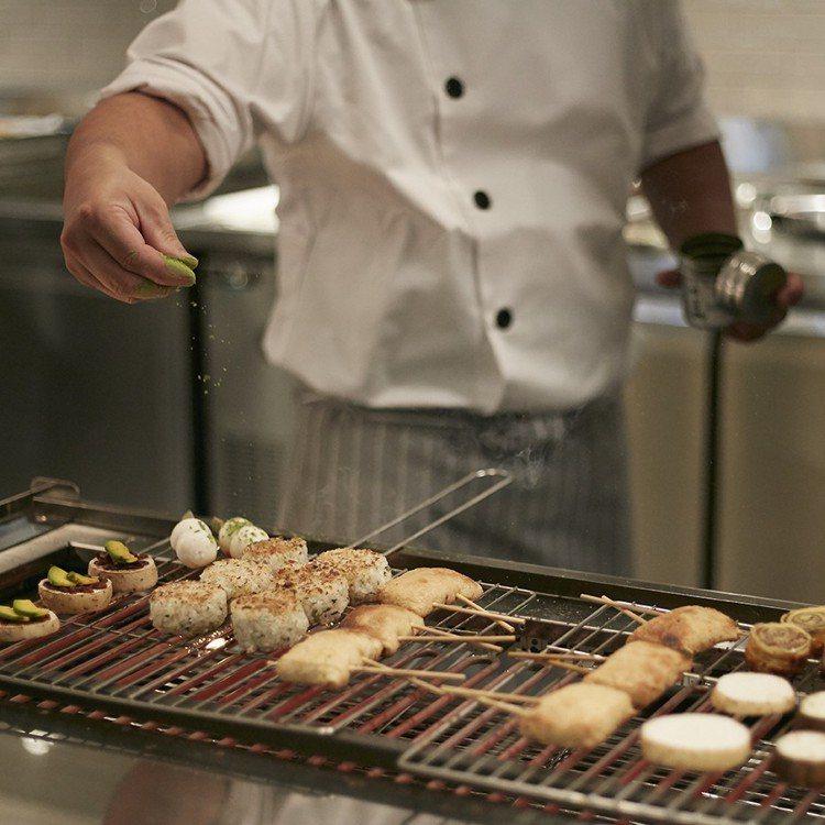 蔬食料理也能充滿各種變化。圖/果然匯提供