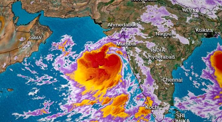 印度西北部將面臨強烈熱帶氣旋威脅,預計在當地時間周四(13日)登陸。截自CNN