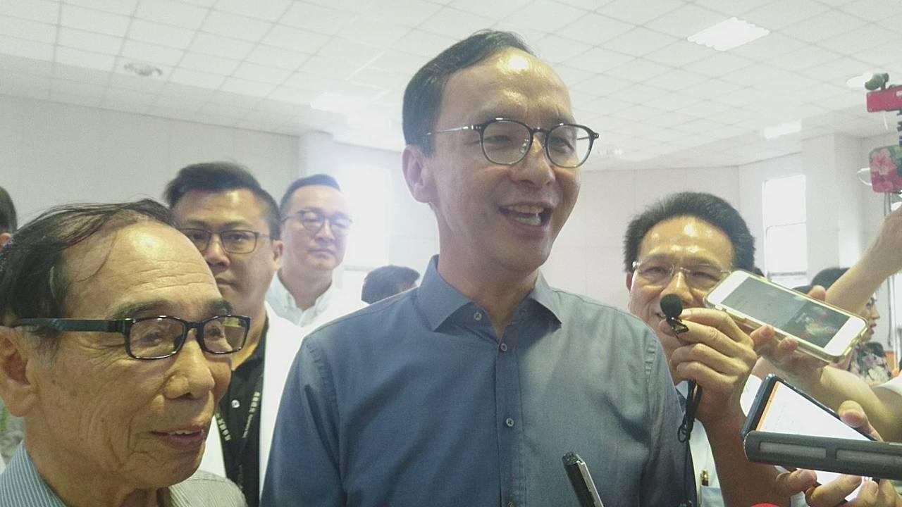 新北市前市長朱立倫。記者羅建旺/攝影