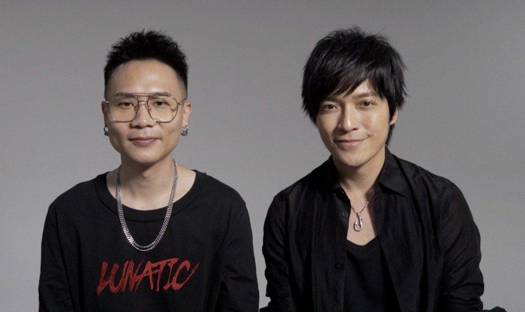 怪獸(右)很欣賞蕭秉治的才華。圖/相信音樂提供