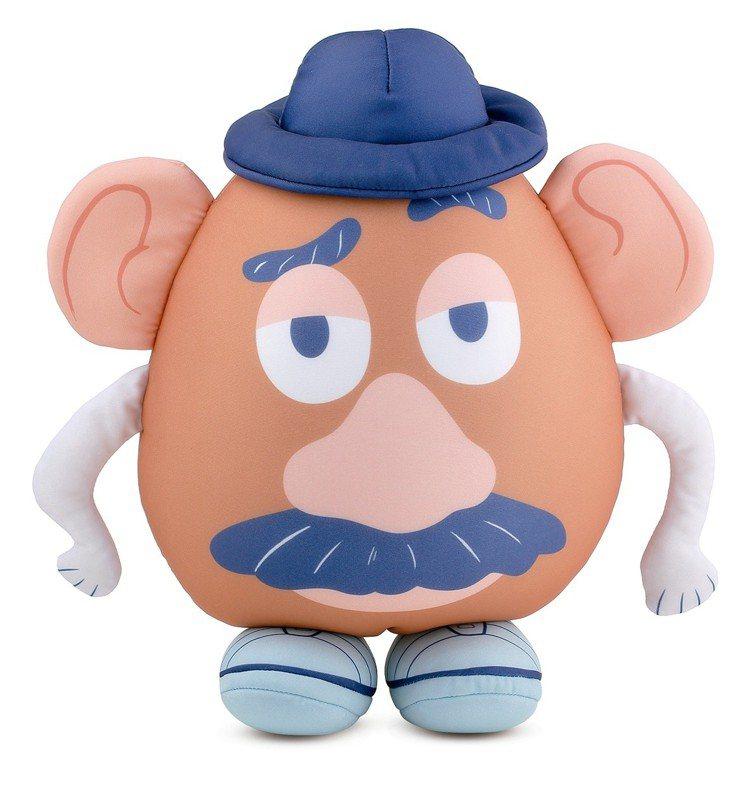 HOLA迪士尼系列玩具總動員造型翻轉頸枕-蛋頭,6月20日起特價599元。圖/H...