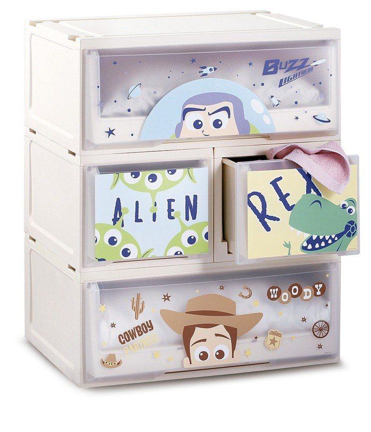 HOLA迪士尼系列玩具總動員單層堆疊抽屜櫃系列,6月20日起特價599~799元...