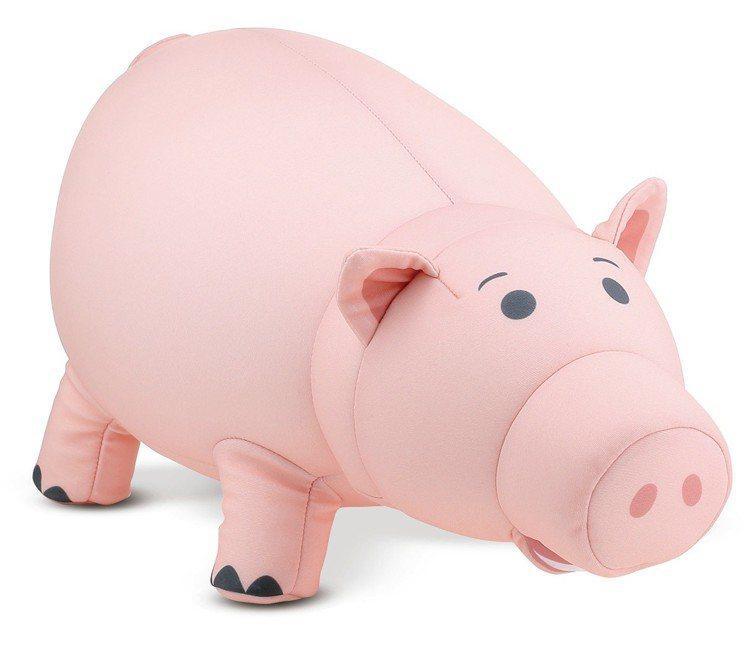 HOLA迪士尼系列玩具總動員造型翻轉頸枕-火腿豬,6月20日起特價599元。圖/...