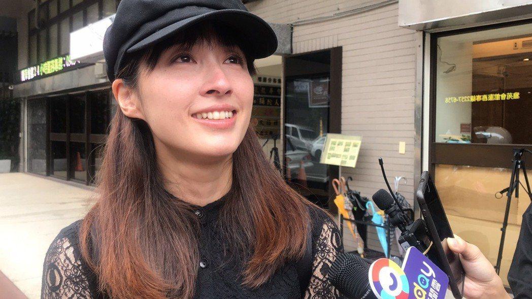 田中千繪感念馬如龍對她的關心。記者黃保慧/攝影