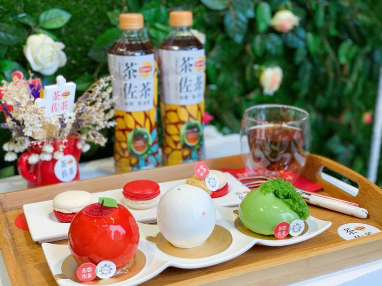 期間限定「稻町森聯名午茶組」,嚐鮮價每組100元。記者徐力剛/攝影