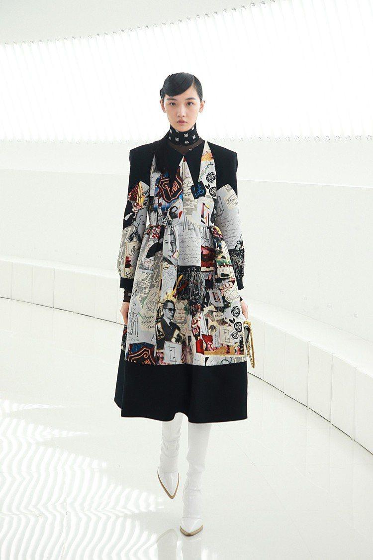 FENDI 2019秋冬是Karl Lagerfeld操刀設計的最後一個系列。圖...