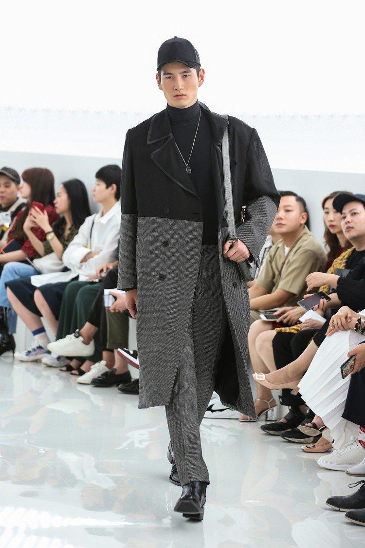 FENDI在上海寶龍現代美術館發表早前於米蘭登場的男女秋冬系列。圖/FENDI提...