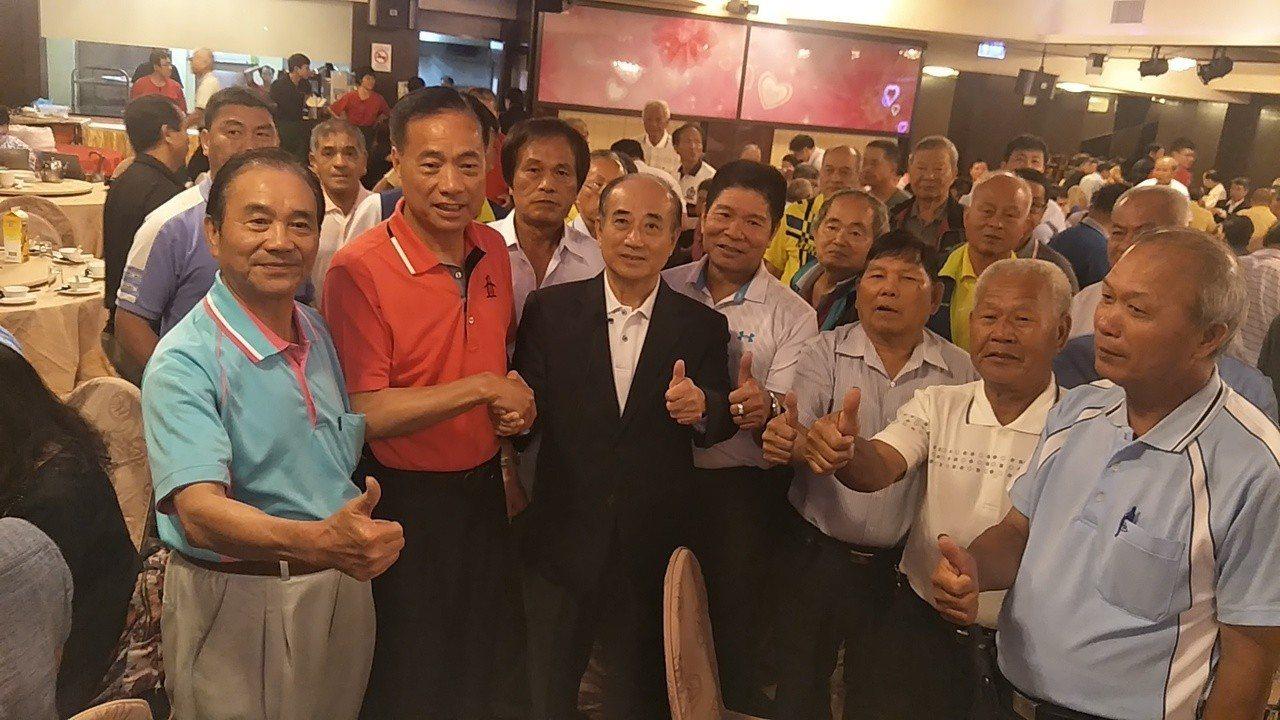 立法院前院長王金平(見圖)參加北桃園王金平之友會成立大會。記者曾增勳/攝影
