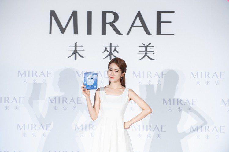 宇宙女神劉寅娜接任「未來美MIRAE」2019年全新代言人。圖/未來美提供