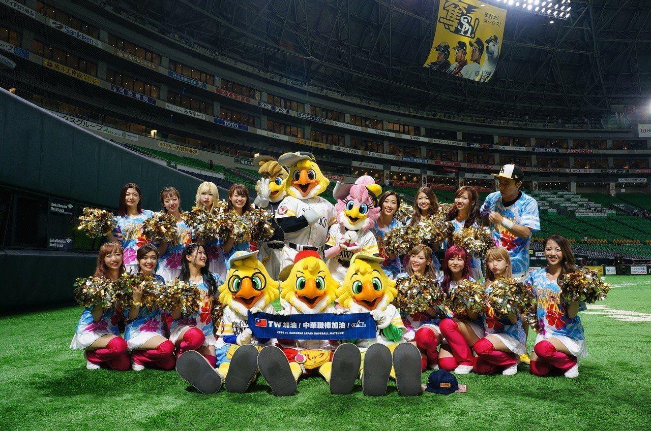「福岡Yafuoku!巨蛋」推出專屬海外球迷的設施服務。記者何雅玲/攝影