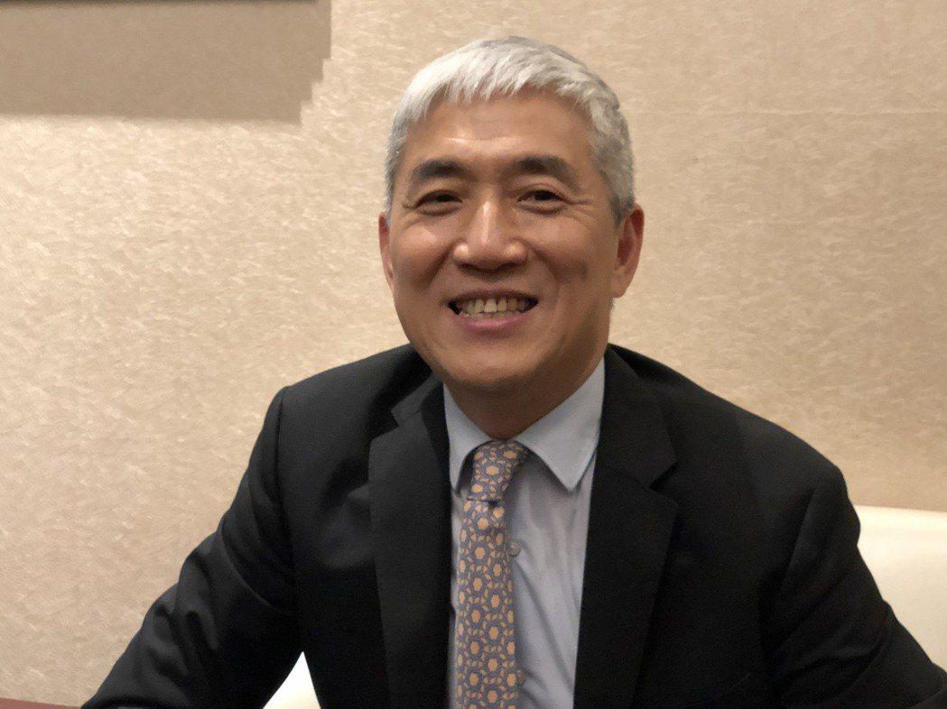 技嘉董事長葉培城。記者蕭君暉/攝影