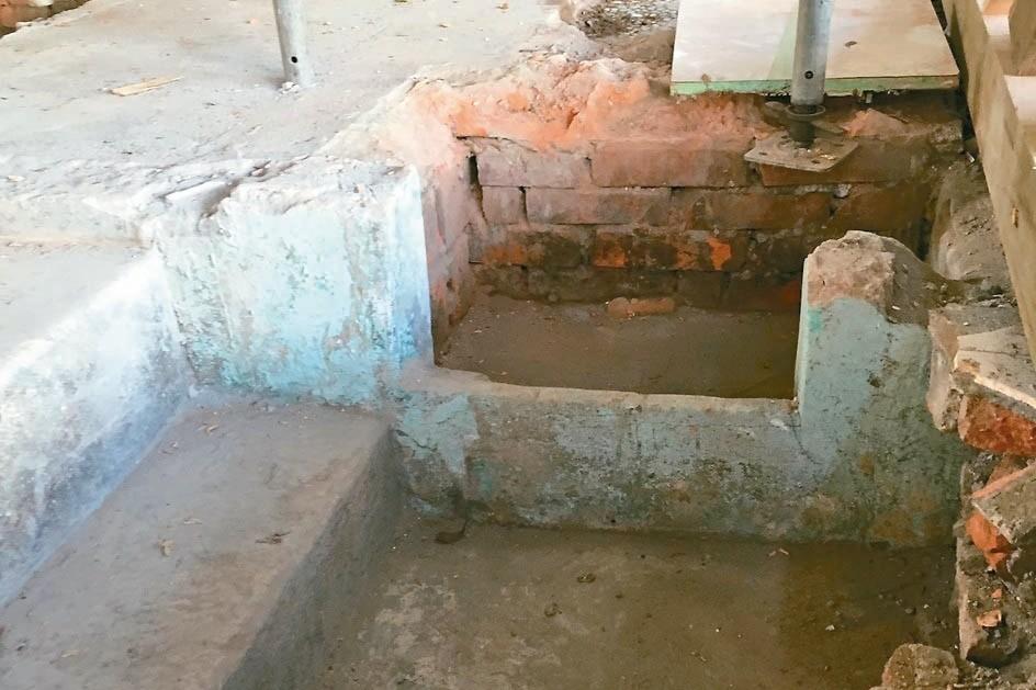 基隆修復校官眷舍古蹟 發現神祕階梯、風呂