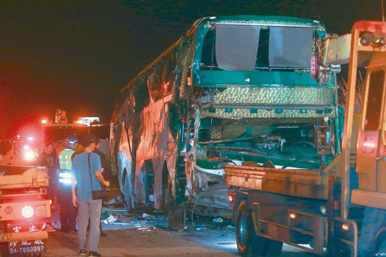 阿羅哈客運再發生重大車禍事故。 圖/聯合報系資料照片