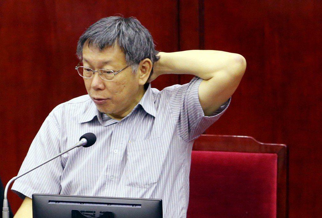 台北市長柯文哲的「柯P」綽號廣為人知。 圖/聯合報系資料照片