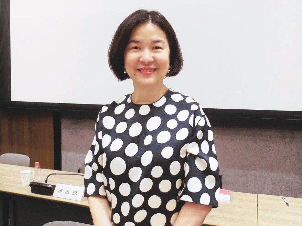 震旦行董事長袁蕙華 記者何佩儒/攝影